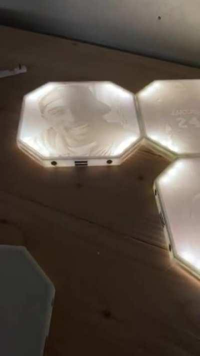 Something I've been working on for the past couple months on and off. Modular Lithophanes
