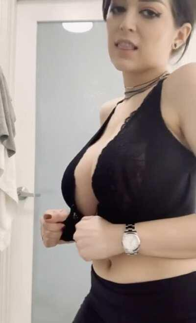 Those tits are fucking perfect 😍 ( Her Free Album In Comments )