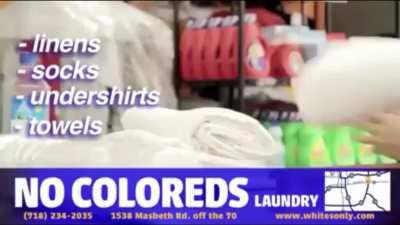 Tom tries to open a laundromat