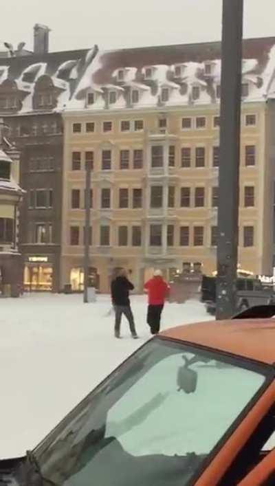 Leipzig | die Wintersport Saison ist eröffnet