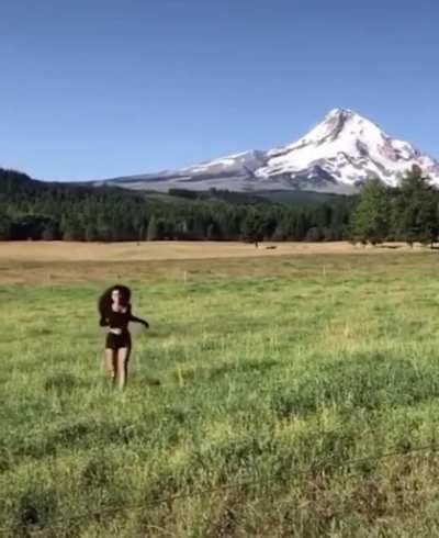 beautiful scenic run