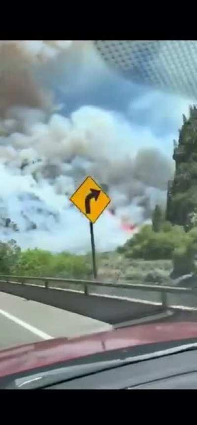 [Video] Glenwood Canyon Fire. Source: Vail Daily Facebook