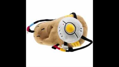 GLaDOS gets turned into a marketable plushie