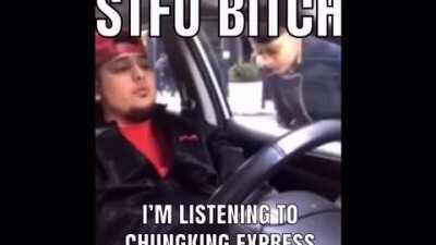 Yo i be listening to Chungking express soundtrack doe