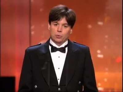 In honor of the Original James bond - Mike Meyers honors Sean Connery at his AFI Lifetime Achievement Award