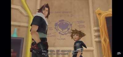 Kingdom Hearts summarized in 8 seconds.