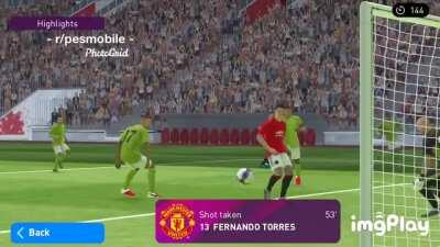 Very realistic for that Torres's face 😂