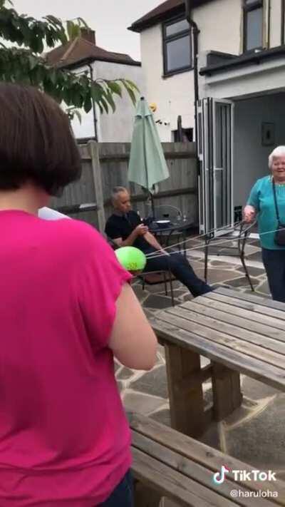 Poor granma