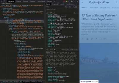 You can bypass most soft paywalls with a little CSS knowledge