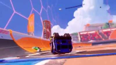 The Fortnite X Rocket League trailer looks so cool. I'm excited for the rewards in Fortnite!