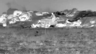 Russian MOD published footage of Russian SOF operations in Syria.