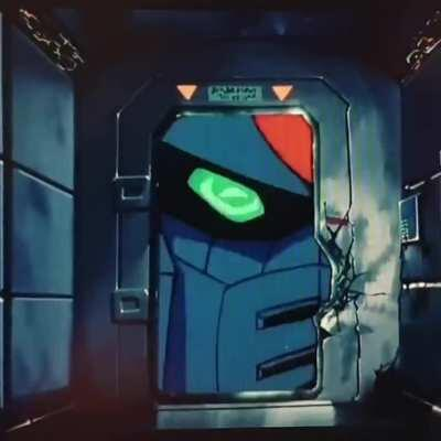 When you overhear your crush saying shes into Mobile Suits