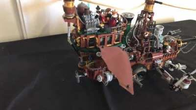 Do you want to hunt vampires with my Steampunk airship ?
