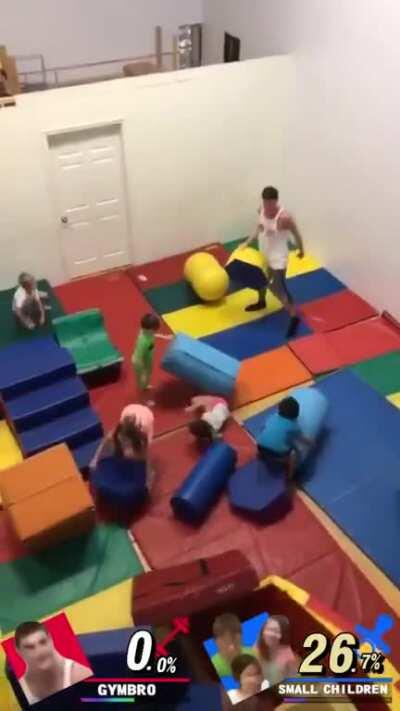 Gymbro slayer of small children