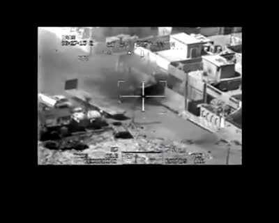 On July 12 2007, two AH-64 Apache Helicopters in Baghdad performed a airstrike in which two Reuters war correspondents are killed and two kids injured. Originally leaked by WikiLeaks in under the title