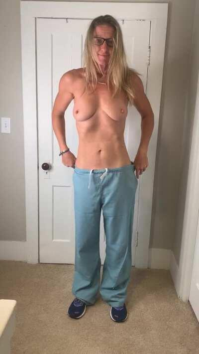 43(f) My scrubs are easy to get off
