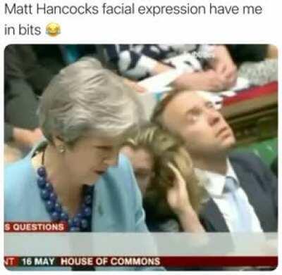 Matt Hancock is just a meme now