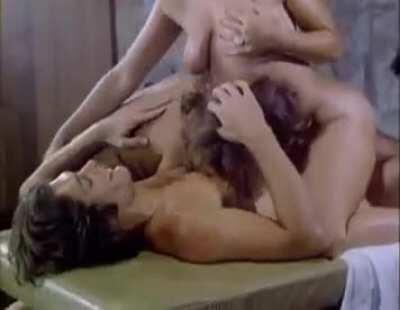 Candida Royalle And Laurien Dominique With Mike Ranger In Hot Rackets(1979)