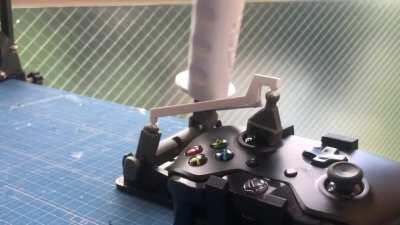 XBOX One controller HOTAS with snap joints