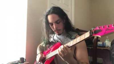 Just looking for a subreddit to post my guitar vid , since I don't see much vids on r/guitar