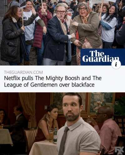 The Gang gets pulled...?