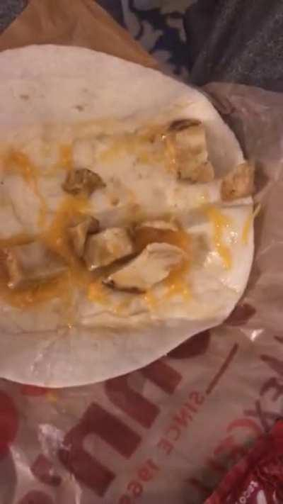 Never eating fast food again