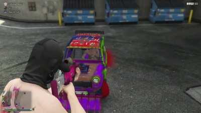 gta 5 and screa-