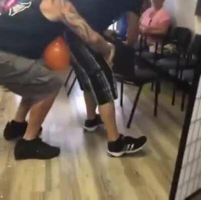 Just popping balloon