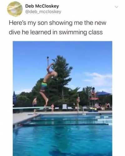 An expert Diver!