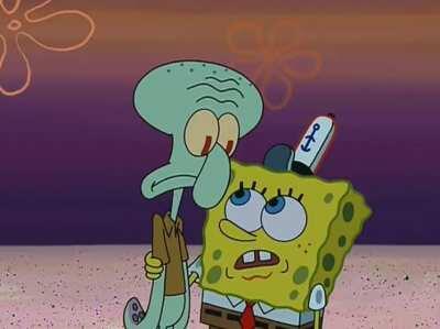 Spongebob is a pervert