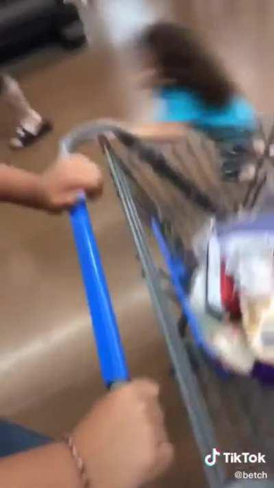 Just getting some groceries