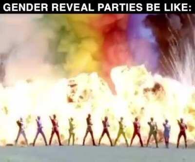 Gender Reveal Parties