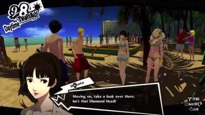 Persona 5: Isn't that Diamond-head?