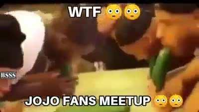 Jojo fans meetup