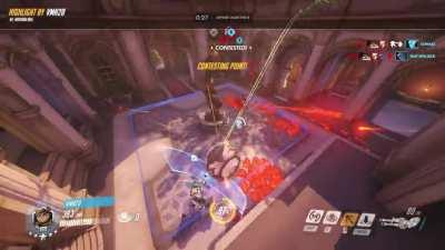 You haven't experienced true Overwatch until you unintentionally simulate a pair of clackers with Wrecking Ball