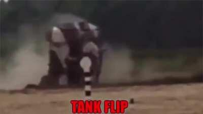 Trying to drift a tank