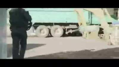 Various clips of vigilantes raiding cartel compounds