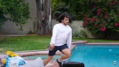 Me in 2nd grade running to the bathroom be like: