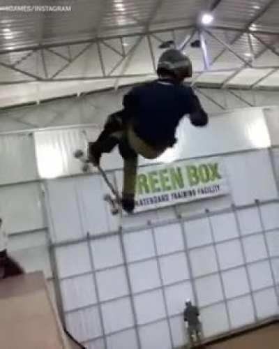 11-year-old skateboarder makes record by hitting a 1080