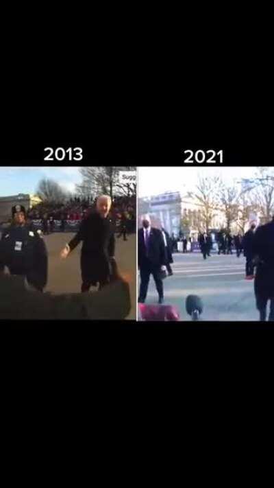 Biden with the same energy