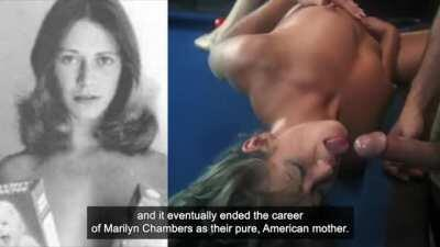 Marilyn Chambers, Cute Mode | Slut Mode, Porn history moment, Ivory Snow model in early XXX