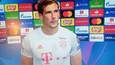 Hat es weh getan, Ihr Idol Messi so erleben zu müssen?