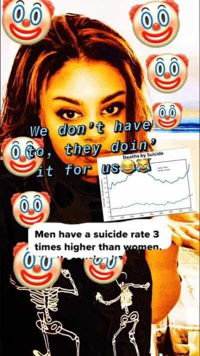 suicide haha
