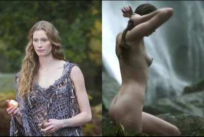 Alyssa Sutherland - On/Off plot in 'Vikings'