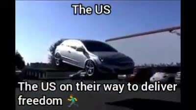 Can't wait for them to deliver freedom to the US