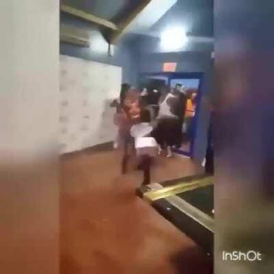 WCGW dancing in a Jamaican club