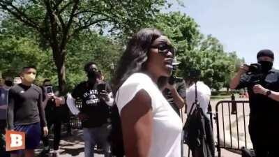 'Black Lives Matter Is a Joke' — Black woman makes her case among protestors in D.C.
