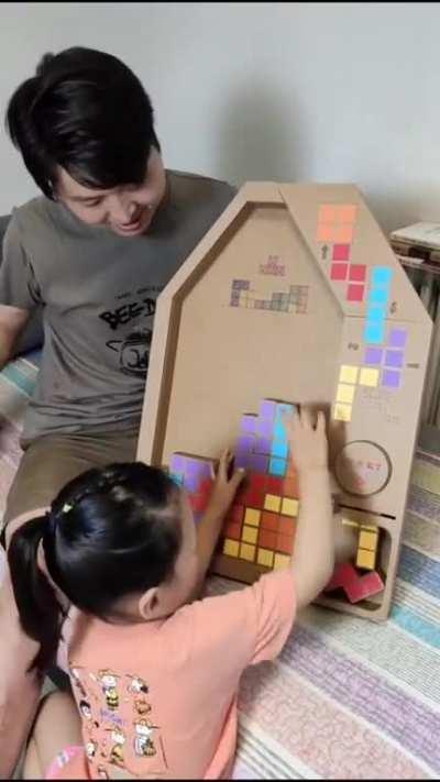 paper box Tetris