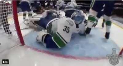 Paint Me Like One Of Your French Goalies.
