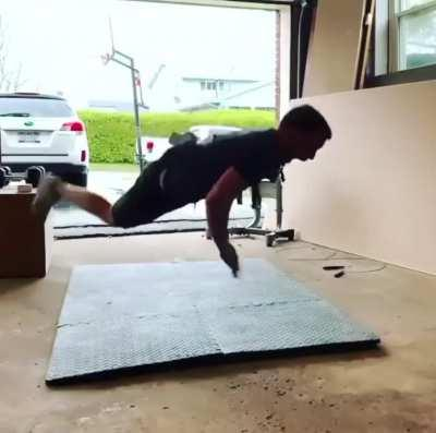 Very simple exercise. Anybody can do this at home without any equipment.